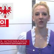 Bianca Achenrainer will Lehrling des Jahres werden